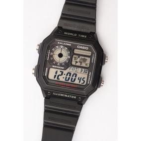 8a0197f6860 Relógio Casio Word Time Iluiluminator W 100m 10 Year Battery