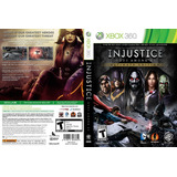 Juego Injustice Gods Amongus Xbox 360 Usado Original
