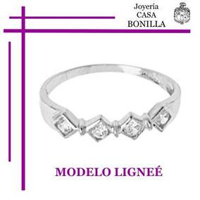 Hermosa Churumbella Oro Blanco Macizo Y Diamantes Naturales