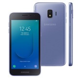 Celular Samsung J2 Core Prata 16gb 5 Android 8.1 8mp 4g