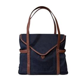 Bolsa Abercrombie & Fitch Azul 100% Original Azul E Marrom