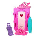 Sandália Infantil Brinde Barbie Dreamhouse Grendenekids