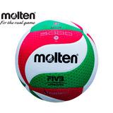 Balon Voleibol Molten V5m5000 Flistatec Piel Sintet Tricolor