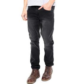 Jeans Negro Para Caballero #29