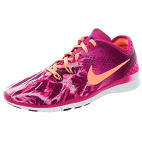 fb66d8235ca Tenis Nike Free 5.0 Tr Fit 5 Print Dama + Envío Gratis + Msi