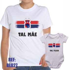 Camiseta Baby Look + Body Paraná Clube Tal Mãe Tal Filha 57bbbd638f76f