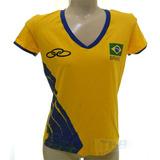 Camisa Oficial De Volei Cbv no Mercado Livre Brasil 56247ccf57460