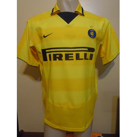 Camiseta Inter Italia 2003 2004 Recoba 20 Nacional Uruguay M 634ab0b0da76a