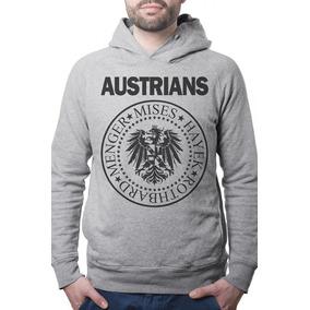 Blusa Moletom Promoção Frio Escola Austrians Unissex a44e532c76abc
