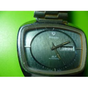 Antiguo Reloj De Pulso Nivada Automatico