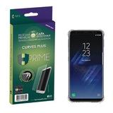 Película Hprime Curves Versão 3 Galaxy S7 Edge + Capa Tpu