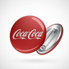 Botton Button Geek Coca Cola