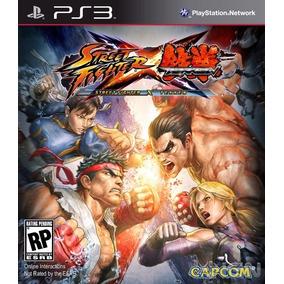 Jogo Street Fighter X Tekken Ps3 Mídia Física Frete Grátis