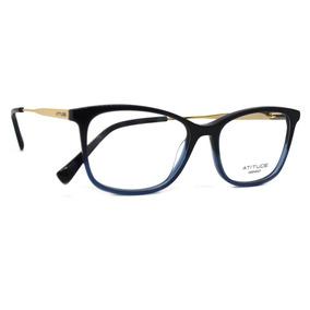 Oculos De Grau Feminino Atitude Azul - Óculos no Mercado Livre Brasil 27558de2ff