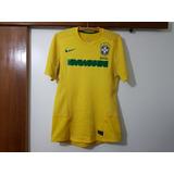 Camisa Seleção Brasileira Brasil 2011 Nike Autografada 2545b685a5a0a