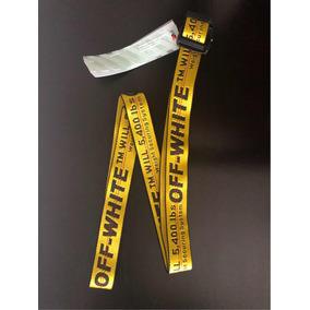Cinturón Off White Industrial Belt Original