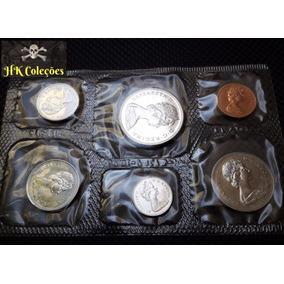Raro Set Moedas Proof Canadá 1972 1 Cent A 1 Dollar Fc