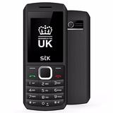 Celular Desbloqueado Stk R45i Color Negro Con Blanco