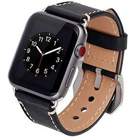 2039fc7e677 Pulseira Em Couro Estilo Hermes Apple Watch 42mm Marrom - Relógios ...