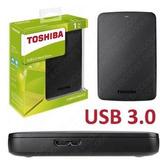 Disco Duro Externo Toshiba Canvio Basics, 1 Tb, Usb 3.0