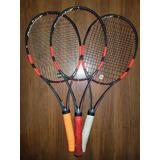 Trio De Raquetes De Tênis Babolat Pure Strike 18x20 305g L3