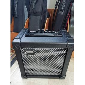 Amplificador De Guitarra Roland Cube 15 Flamante 15w
