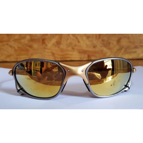 2eb51479c4eda Oakley 24k Gold Iridium 04 De Sol - Óculos no Mercado Livre Brasil