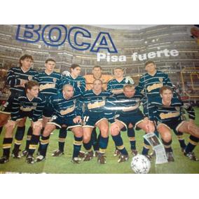 Poster De Boca De El Equipo En 1998  8c0783d63d204