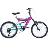 Bicicleta Track Bikes Xs20-6v-mb 6 Marchas Com Suspensão