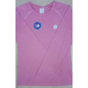 c966bf0dfb Camisa Termica Piscina Blusa Menina Infantil Proteção Crianç
