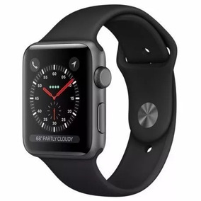 Apple Watch S3 Series 3 42mm Gps Black + Envio Imediato