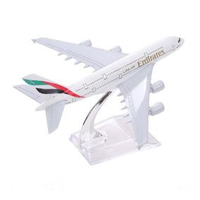 Avião Metal Boeing Airbus 747 A380 Decorar Escritório Outlet