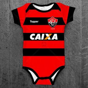 Body Para Bebê Do Esporte Clube Vitória Bebes Roupas Bodies - Bodies ... 567f15752474f