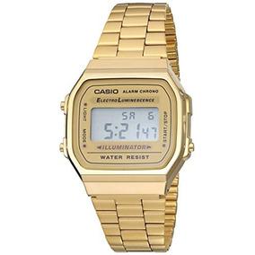 86a94fb70b7d Casio A168wg-9vt Reloj Digital Clásico Metal Retro Vintage