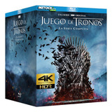 Serie Game Of Thrones 4k Completa  digital Entrega Inmediata