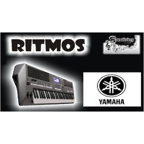 Ritmos Bailes Do Sul Yamaha Psr 550 630 730 E Psr S