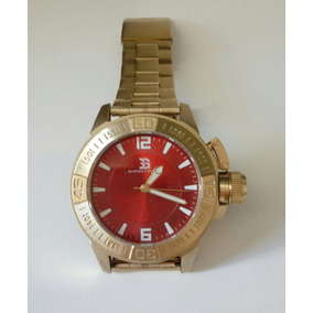 5b42a1ec3fe Relogio Garrido E Guzman Dourado - Relógios no Mercado Livre Brasil