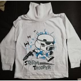 Playera Star Wars Storm Trooper Niño