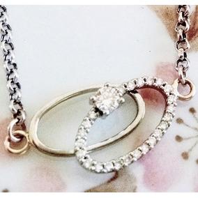 59e7f6c3135d Pulsera De Oro Blanco 14k Y Diamantes - Joyas y Relojes en Mercado ...