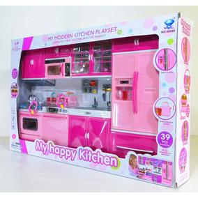 Kit Cozinha Infantil 4em1 Com Som E Luz-modern
