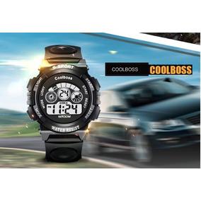 bac847e229c Coolboss Relógio Digital Led Sports A Prova D`água Alar Cron