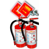 Extintor 4.5 Kgs. (2 Pack) -envío Gratis- Pqs