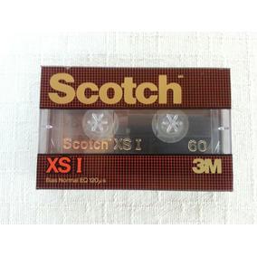 Fita K7 Cassete Scotch Xs-i 60 Minutos Nova E Lacrada 3m
