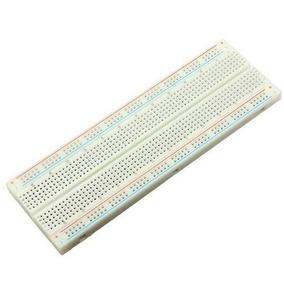 Lote Com 20 Protoboard 830 Pontos Furos Breadboard Arduino
