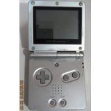 Gameboy Advance Sp Nintendo Plata C/cargador/02 Juegos 8/10