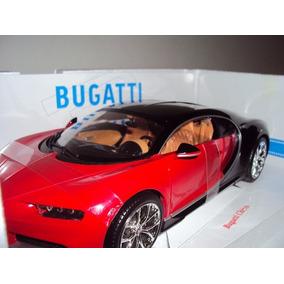 Miniatura Bugatti Chiron 1:18 Bburago