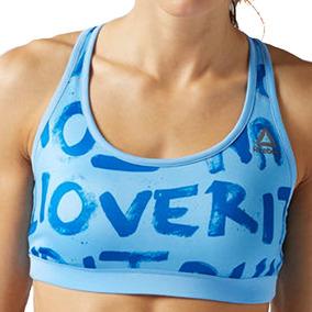 Bra Top Atletico Essentials Printed Mujer Reebok Bj9938