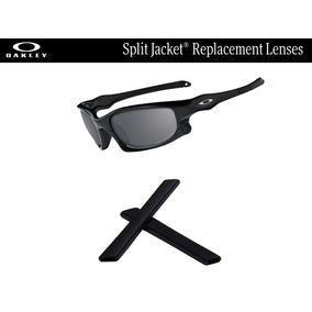Gomas De Repuesto Para Oakley Split Jacket Color Negro