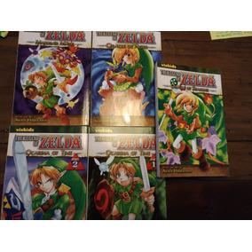 Mangá Zelda 5 Volumes Em Inglês