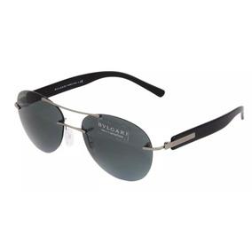 Óculos Bvlgari Bv6051 102   8g Óculos De Sol Cor Preto c9d9ee1158